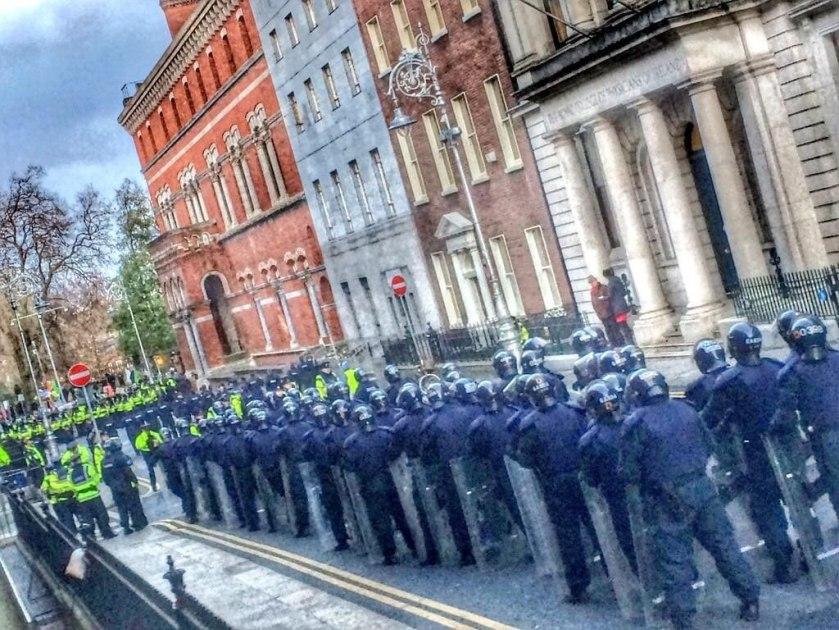 Garda public order unit 10 December 14
